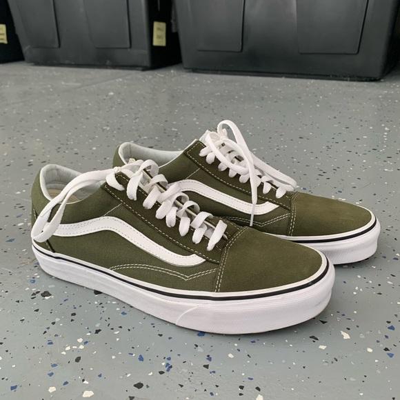 Vans Shoes   Vans Old Skool Olive Green